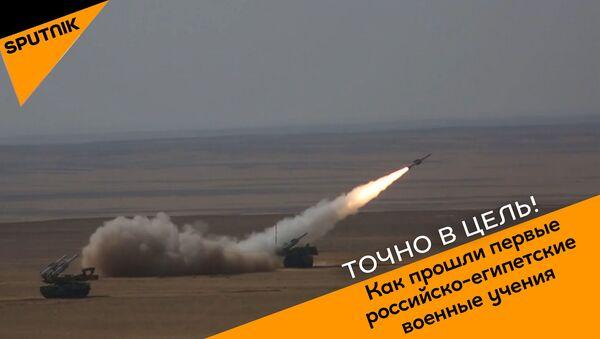 Российские зенитки разбудили фараонов. Как прошли первые российско-египетские военные учения - Sputnik Абхазия