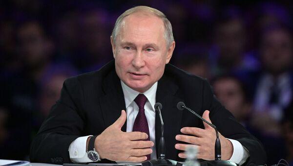 Президент РФ В. Путин принял участие в форуме Восточной Европы по искусственному интеллекту AIJ - Sputnik Абхазия