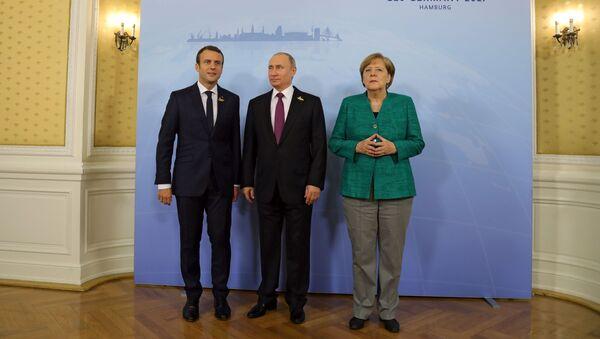 Президент РФ В. Путин принимает участие в саммите Группы двадцати в Гамбурге - Sputnik Абхазия