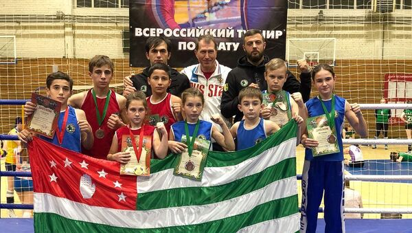 Боксеры из Абхазии победили на турнире в России - Sputnik Абхазия