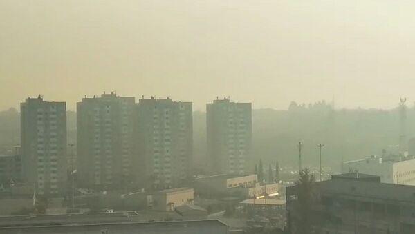 Смог в городе  - Sputnik Абхазия