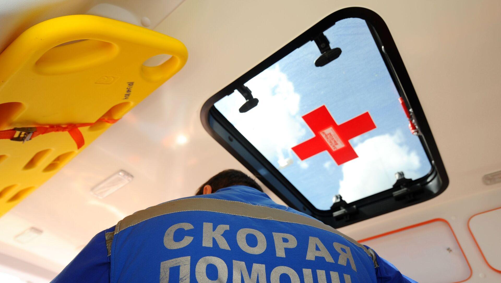 Работа скорой помощи и Центра медицины катастроф в Тамбове - Sputnik Абхазия, 1920, 27.09.2021