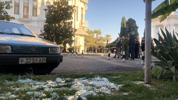 Стрельба напротив ресторана Сан-Ремо  - Sputnik Аҧсны