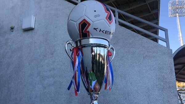 Юных футболистов сухумского Динамо наградили за победу на турнире в Сочи - Sputnik Абхазия