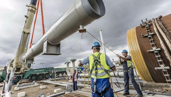 Строительство газопровода Северный поток — 2 - Sputnik Абхазия