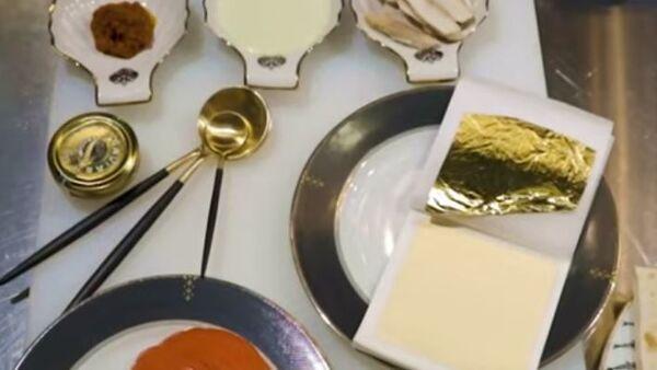 В ресторане в Санкт-Петербурге подают шаверму с золотом - Sputnik Абхазия