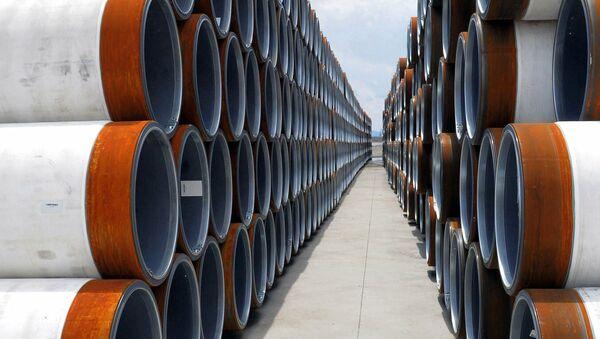 Трубы для стоительства газопровода Турецкий поток - Sputnik Абхазия