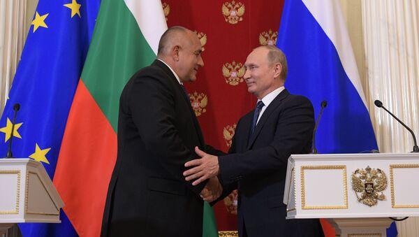Президент РФ В. Путин встретился с премьер-министром Болгарии Б. Борисовым - Sputnik Абхазия