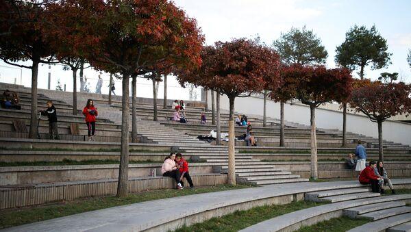 Краснодарский парк Галицкого награжден премией Urban Parks Award - Sputnik Абхазия