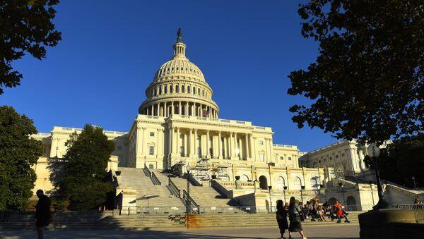 Капитолий (United States Capitol) на Капитолийском холме в Вашингтоне. - Sputnik Аҧсны