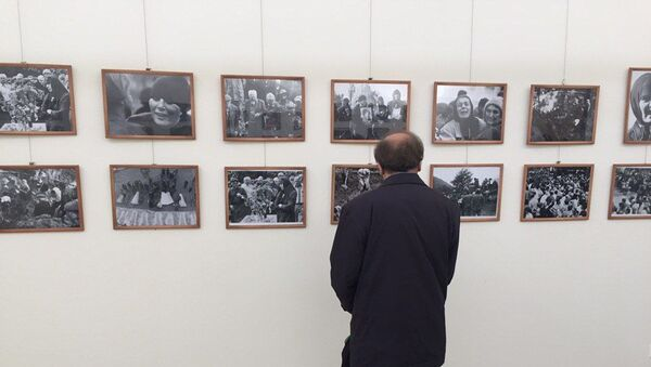 Фотовыставка, посвященная Латской трагедии. Музей Гудауты - Sputnik Абхазия