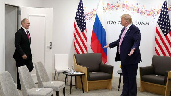 Рабочий визит президента РФ В. Путина в Японию для участия в саммите Группы двадцати - Sputnik Абхазия