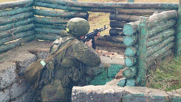 Военнослужащие ЮВО в Абхазии выполнили более 40 тыс. упражнений  - Sputnik Абхазия