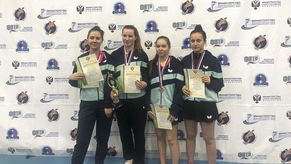 Первенство России по настольному теннису - Sputnik Абхазия