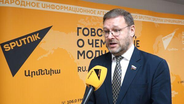 Откровенное хамство: Косачев об угрозах эстонских властей в адрес Sputnik Эстония - Sputnik Абхазия