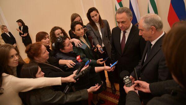 В Сухуме состоялось 18 пленарное заседание Межправительственной комиссии о социально-экономическому сотрудничеству России и Абхазии - Sputnik Абхазия