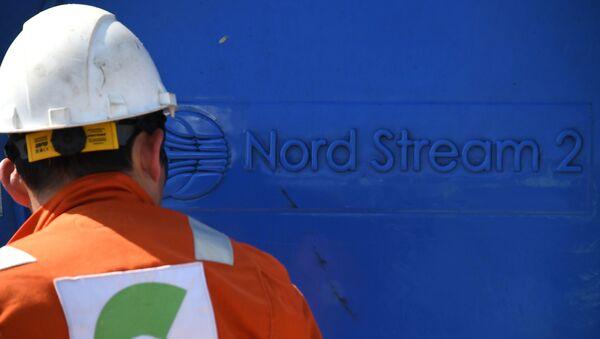 Строительство газопровода Северный поток-2 в Ленинградской области - Sputnik Абхазия