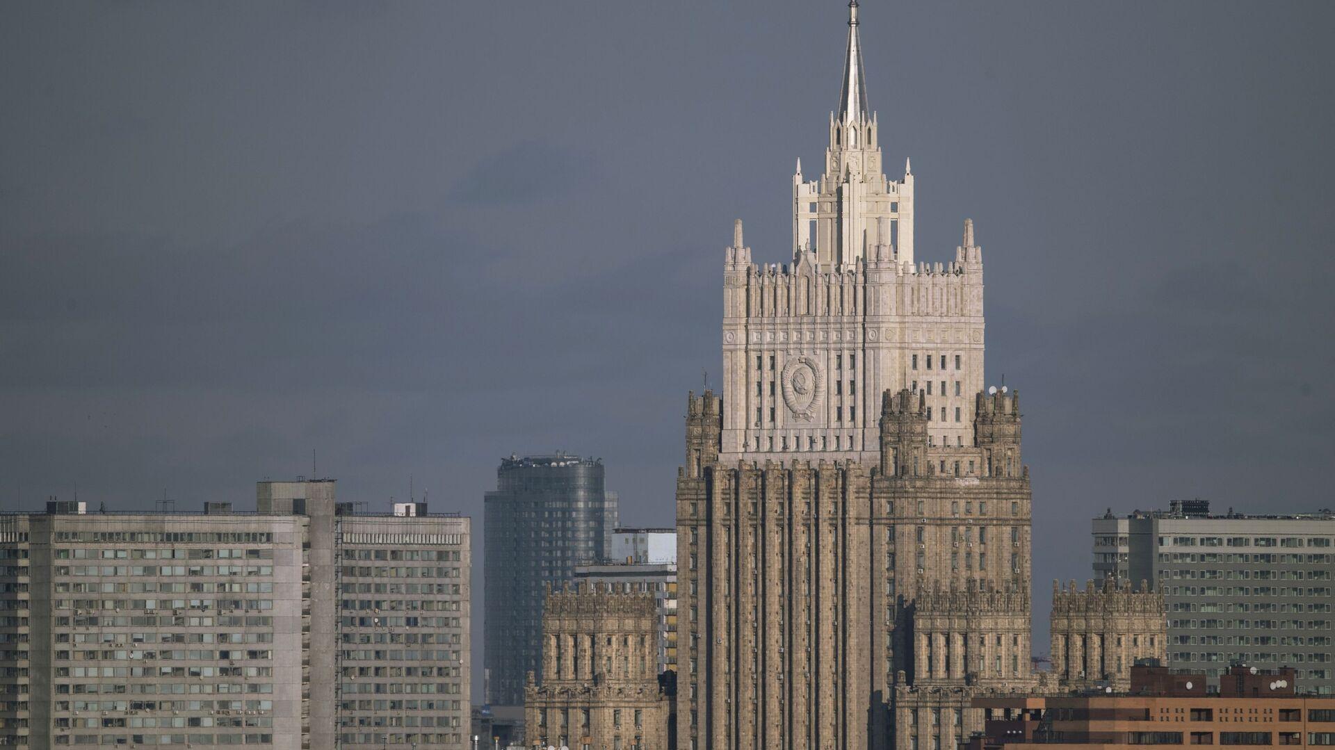 Здание МИД России - Sputnik Абхазия, 1920, 09.10.2021