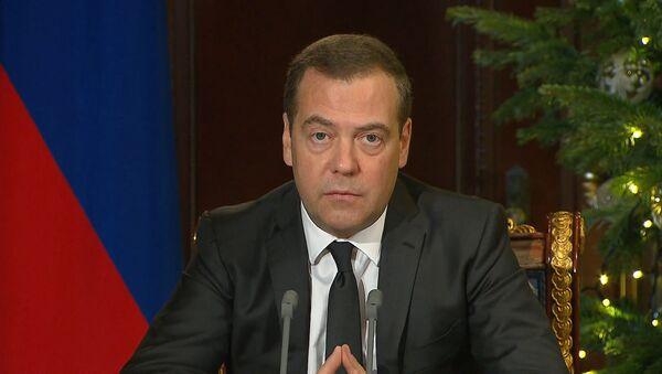 Носят абсолютно антиконкурентный характер: Медведев о санкциях США против Северного потока – 2 - Sputnik Абхазия
