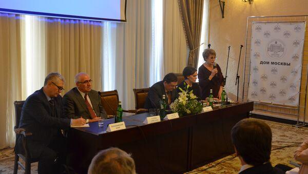 Круглый стол Гуманитарное сотрудничество Абхазии и России - Sputnik Абхазия