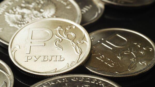 Монеты номиналом один рубль. - Sputnik Абхазия