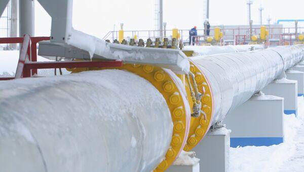 Транзит и поставки газа возобновлены через ГИС Суджа - Sputnik Абхазия