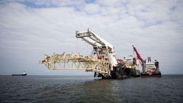 Началась укладка газопровода «Северный поток ‑ 2» в Финляндии - Sputnik Абхазия