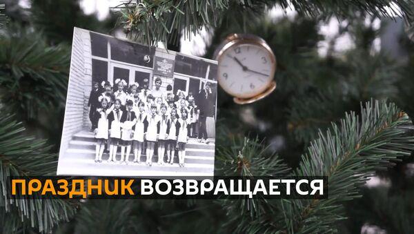 Впервые после чернобыльской аварии в Припяти установили новогоднюю елку  - Sputnik Абхазия
