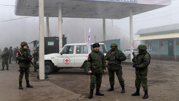 Обмен военнопленными между ДНР, ЛНР и Украиной в Донецкой области - Sputnik Абхазия