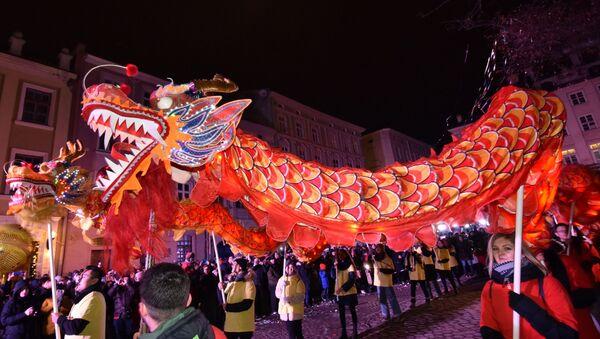 Празднование Китайского Нового года во Львове - Sputnik Абхазия