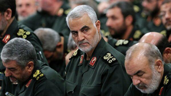 Иранский генерал Касема Сулеймани, командовавший подразделением Кудс Корпуса стражей исламской революции - Sputnik Абхазия