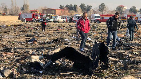 На месте крушения самолета в Иране - Sputnik Аҧсны
