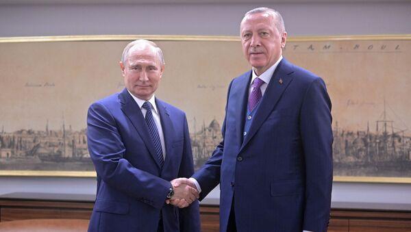 Рабочий визит президента РФ В. Путина в Турецкую Республику - Sputnik Абхазия