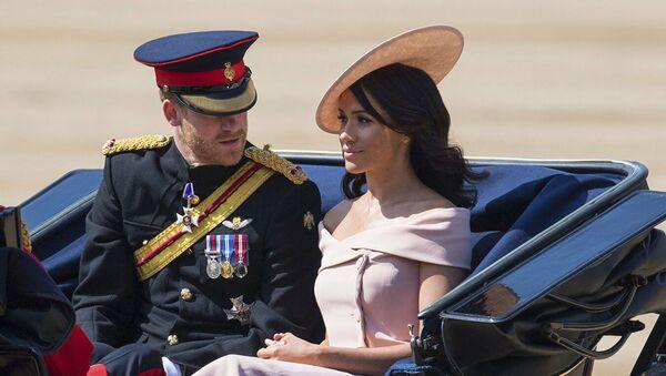 Принц Гарри с женой Меган Маркл. Архивное фото - Sputnik Абхазия