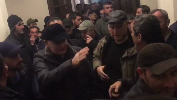 Аслан Бжания прибыл в Сухум - Sputnik Абхазия