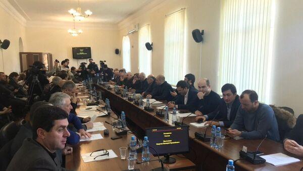 Заседание депутатов - Sputnik Абхазия