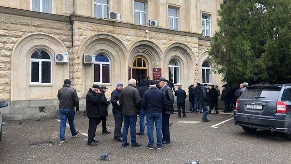 Митинг оппозиции общий обзор - Sputnik Абхазия