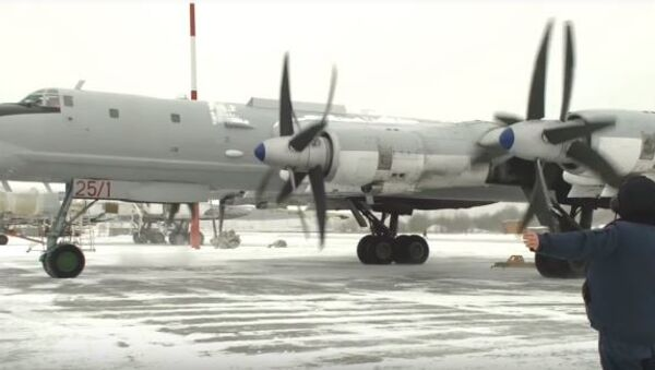 Полеты Ту-95МС в условиях низких температур - Sputnik Абхазия