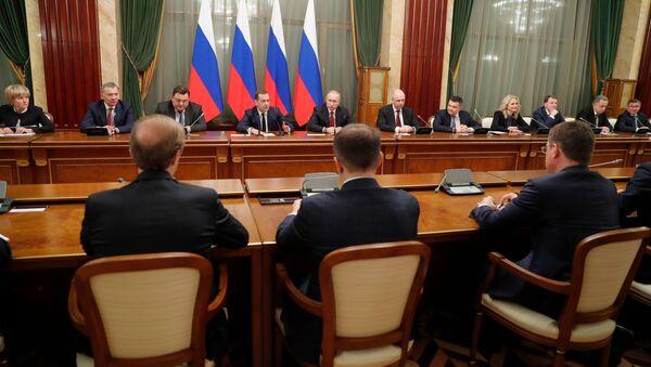 Правительство России уходит в отставку - Sputnik Абхазия
