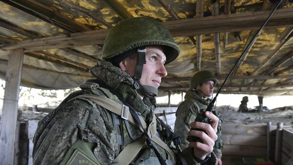 Учебно-методический сбор командиров рот и батарей российской военной базы  - Sputnik Абхазия