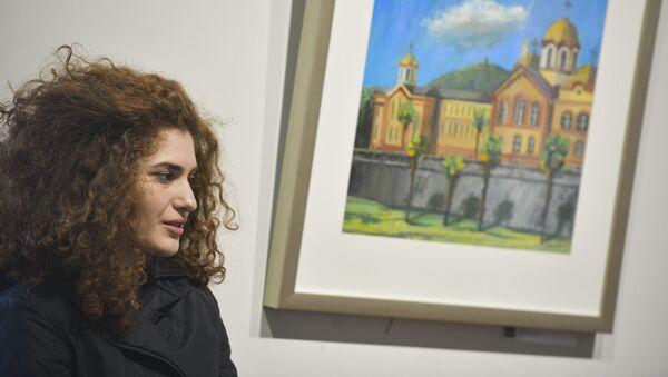 Выставка в ЦВЗ Дианы Хинтба, Апщи Хагба, Батала Джапуа, Саида Возба - Sputnik Абхазия