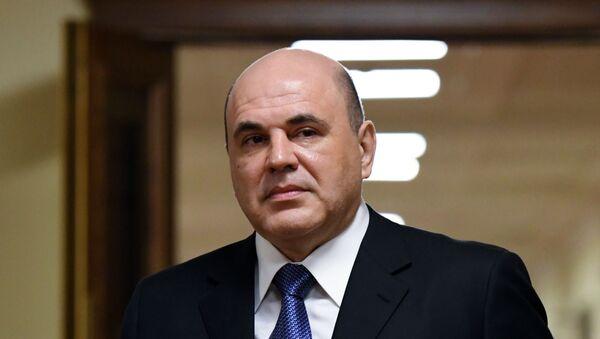 Кандидат на пост премьер-министра РФ М. Мишустин встретился с парламентскими фракциями - Sputnik Аҧсны