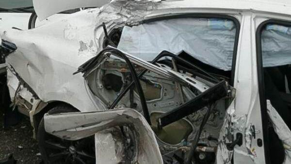 На автодороге М-4 «Дон», возле города Адыгейска, произошло дорожно-транспортное происшествие с тяжкими последствиями - Sputnik Абхазия