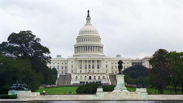 Капитолий - здание, где заседает конгресс США - Sputnik Абхазия