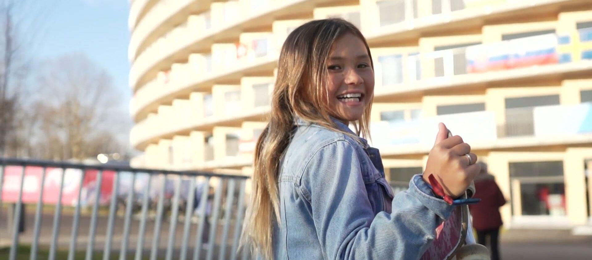 Девочка-вундеркинд готовится выступить на Олимпиаде-2020 в Токио - Sputnik Абхазия, 1920, 19.01.2020