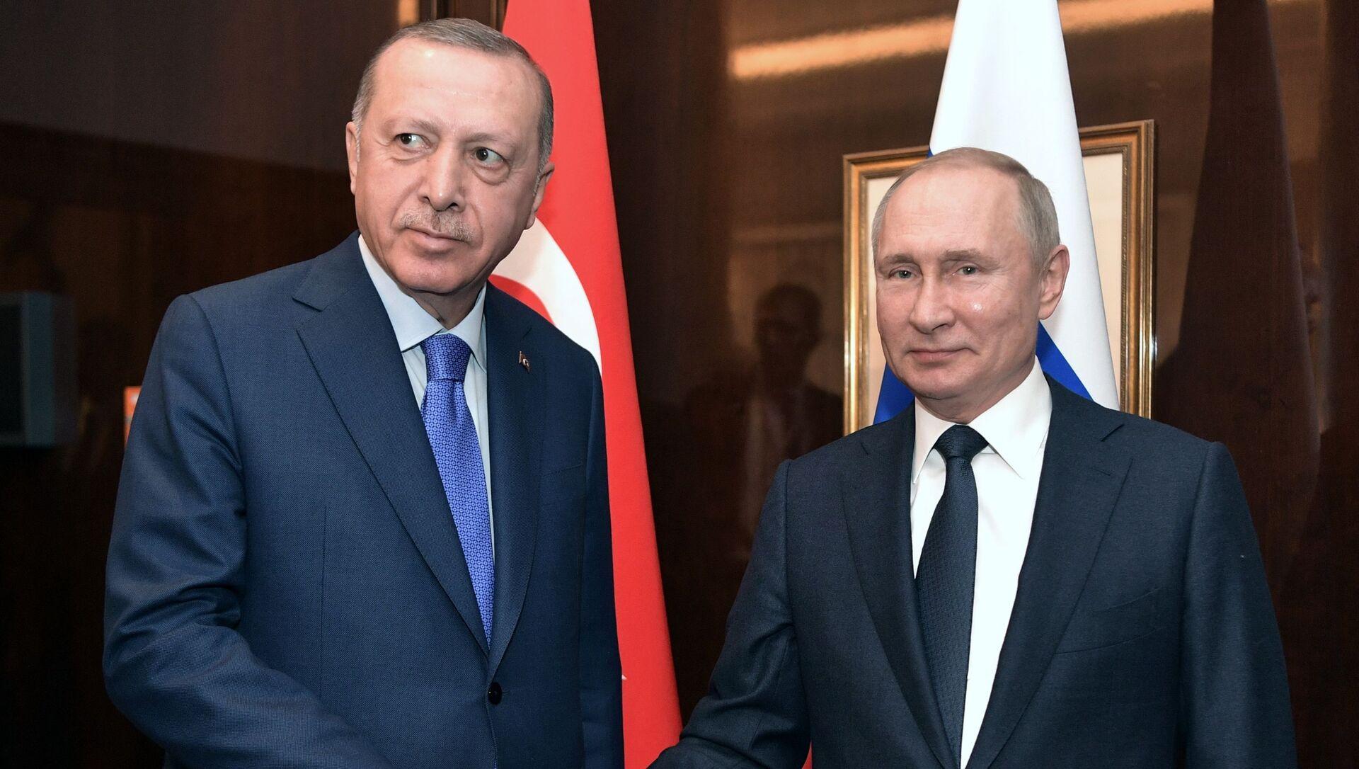 Поездка президента РФ В. Путина в Берлин для участия в Международной конференции по Ливии - Sputnik Аҧсны, 1920, 27.09.2021