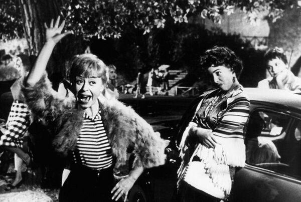Кадр из фильма Федерико Феллини Ночи Кабирии, 1957 год - Sputnik Абхазия