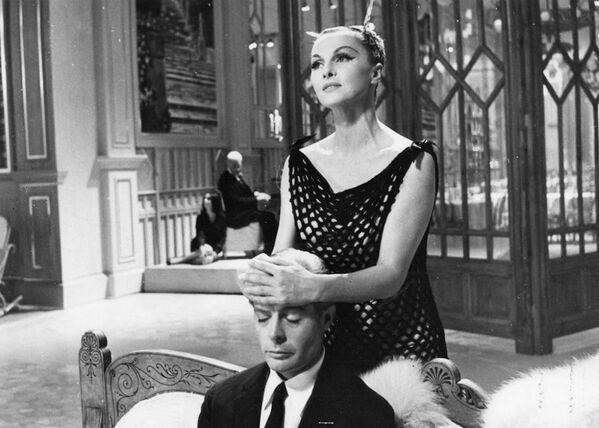 Кадр из фильма Федерико Феллини Восемь с половиной, 1963 год - Sputnik Абхазия