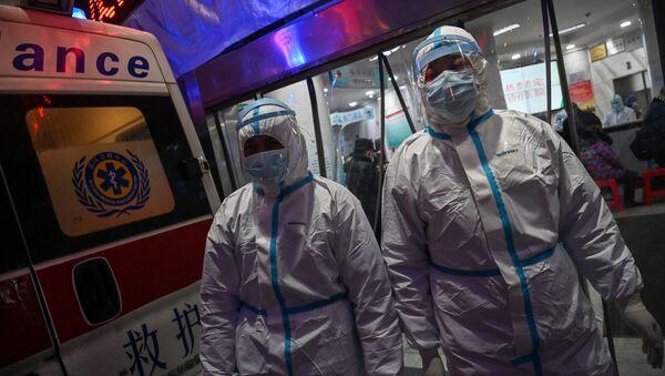 Борьба с новым коронавирусом в Китае - Sputnik Аҧсны