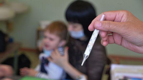 Сезонный рост заболеваемости гриппом и ОРВИ в России - Sputnik Аҧсны